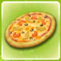 Pizza s moreproduktami