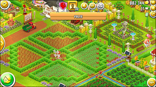 Красивая ферма на Hay Day