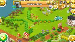 Hay Day фермы на разных уровнях